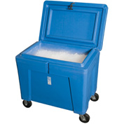"Polar Chest Dry Ice Container with Lid and Casters PB11HLC - 42""L x 29""W x 39""H"