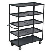 Jamco Expanded Metal Steel Shelf Truck CG360 60 x 30 1200 Lb Capacity