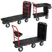 "Rubbermaid® 4497 Convertible Platform Truck 8"" Pneumatic Casters"