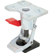 "Vestil Adjustable Height Steel Floor Lock FL-ADJ-810 for 6 & 8"" Casters"