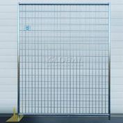Welded Wire Fence, Powder Coat - 5'Wx6'H 4 Panel Kit