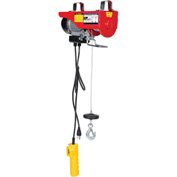 Vestil Mini-Electric Cable Hoist 200 Lb. Double Line Capacity