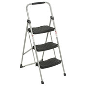 Werner 3 Step Steel Folding Step Ladder 225 lb. Cap - 223-6