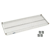 Chrome Wire Shelf 42x24 With Clips
