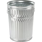 Galvanized Garbage Can - 20 Gallon Commercial Duty