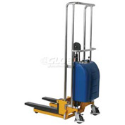 "Wesco® Value Lift Powered Stacker 273203 880 Lb. Cap. 47"" Lift"
