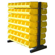 Strong Hold® Heavy Duty Bin Rack 55-BR-84 - Double-Sided With 84 Bins