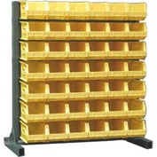 Strong Hold® Heavy Duty Bin Rack 55-BR-42 - Single-Sided With 42 Bins