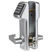 Access Cylindrical Lock Schlage C Keyway 160 Codes, Satin Chrome