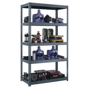 "High Capacity Boltless Shelving 60""W x 24""D x 84""H, 3250 lbs. Capacity"