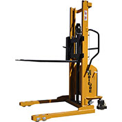 "Big Joe® M22-118 Battery Operated Power Lift Stacker 2200 Lb. 118"" Lift"