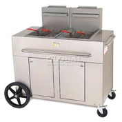 Crown Verity Portable Fryer - Double