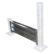 Galvanized Structural Guard Rail 10 Ft. Drop-in Style
