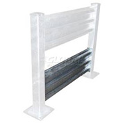 Galvanized Structural Guard Rail 6 Ft. Bolt-on Style