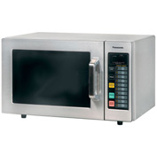 Panasonic ® 0.8 Cu. Ft. 1000 Watt All Stainless Steel Commercial Microwave
