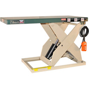 Beech® LoadRedi™ Light-Duty Scissor Lift Table RL36-10-2W 48-5/8 x 24 1000 Lb. Cap.
