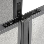 "Interion™ Low-High Three Way Kit For Two 64"" Low Panel"