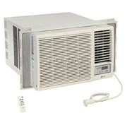 LG Window Air Conditioner with Remote Control LW1816HR, 18,000 BTU Cool 12,000 BTU Heat  230/208V
