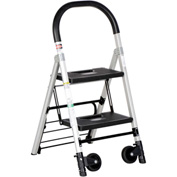 "Folding Stepladder Also Functions as a Hand Truck 20""D x 37""H"