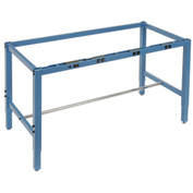 "60""W x 30""D Workbench Frame w/ Electric-Blue"