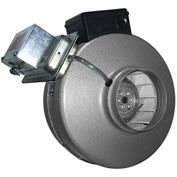 "Vortex Inline Blower Fan 4"" With Pressure Switch"