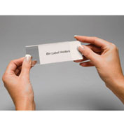 "Tri-Dex Label Holder 1"" x 3"" for Stacking Bin Price per Pack of 25"