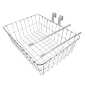 Industrial Bicycle Small Front Wire Basket Package Count 2
