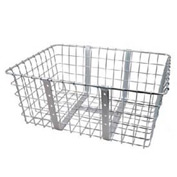 Industrial Bicycle Large Front Wire Basket Package Count 2