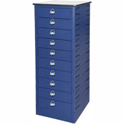 Datum TekStak Laptop Storage Charging Locker 10 Tier Hasp Lock Laminate Top, Series TEKSE10-H