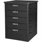 Datum TekStak Laptop Storage Charging Locker 5 Tier Electronic Lock Laminate Top, Series TEKSE5-C
