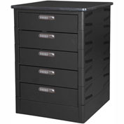 Datum TekStak Laptop Storage Locker 5 Tier Electronic Lock Laminate Top, Series TEKS5-C