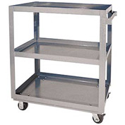 Vestil Aluminum Three Shelf Service Cart SCA3-2840 40 x 28 660 Lb. Capacity