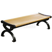 6' Victorian Bench in Recycled Plastic Lumber