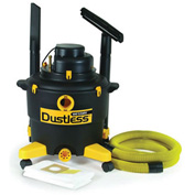 Dustless 16 Gallon Wet Dry Vacuum 16003 with 12' Hose