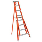 Louisville 7' Type 1A Fiberglass Tripod Ladder, 300 Lb. Cap. - FT1007