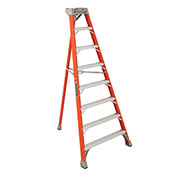 Louisville 8' Type 1A Fiberglass Tripod Ladder, 300 Lb. Cap. - FT1008