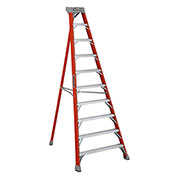 Louisville 10' Type 1A Fiberglass Tripod Ladder, 300 Lb. Cap. - FT1010