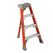 Louisville 4' Type 1A Fiberglass Tripod Ladder, 300 Lb. Cap. - FT1004