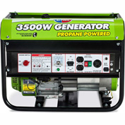 All Power America APG3535CN 3500W 6.5 HP Propane Powered Generator W/ Mobility Kit
