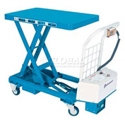 Bishamon® MobiLift™ Battery Powered Scissor Lift Table BX-30B 660 Lb. Capacity