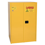 Eagle Flammable Cabinet with Self Close Double Door 90 Gallon
