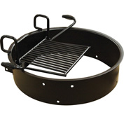 "Drop Grate Fire Ring, 31-3/4"" Dia. x 7-3/8"" H"