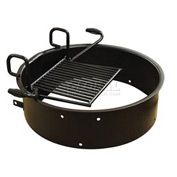 "Drop Grate Fire Ring, 31-3/4"" Dia. x 9-3/8"" H"