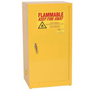 Eagle Compact Flammable Cabinet - Manual Close Door 16 Gallon
