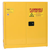 Eagle Compact Flammable Cabinet - Self Close Door 24 Gallon