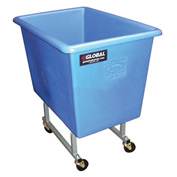 Dandux Blue Elevated Plastic Box Truck 51130P04U 4 Bushel Capacity