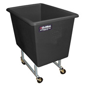 Dandux Black Elevated Plastic Box Truck 51130P06Z 6 Bushel Capacity