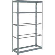 "Heavy Duty Shelving 36""W x 24""D x 84""H With 5 Shelves, No Deck"