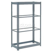 "Heavy Duty Shelving 48""W x18""D x 60""H With 5 Shelves, No Deck"