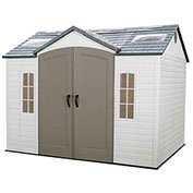 Lifetime® Storage Shed 10' x 8' Front Entry with Windows